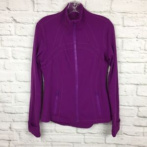 Lululemon 10 Define Jacket Regal Plum Purple Luon